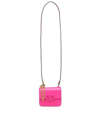 Valentino Garavani Vsling Mini Leather Shoulder Bag | Valentino - Mytheresa