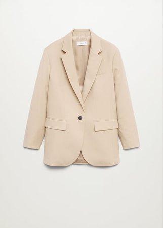 Oversize blazer - Women | Mango USA