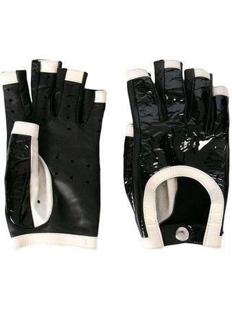 Chanel Vintage Fingerless Gloves - Farfetch