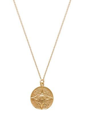 Sun Medallion Necklace