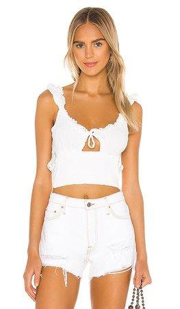 Jen's Pirate Booty Monsoon Tank in White | REVOLVE