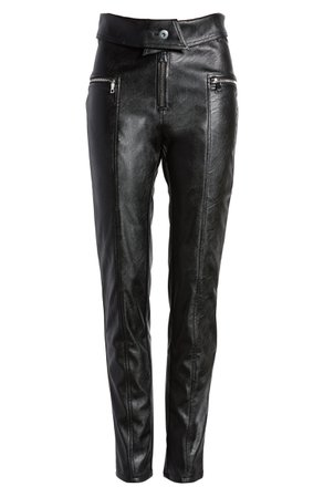 Tiger Mist Highlight Faux Leather Pants | Nordstrom