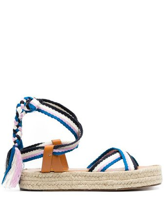 Isabel Marant woven-strap Espadrille Sandals - Farfetch
