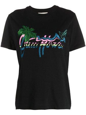 Gucci Gucci Hawaii Print T-shirt - Farfetch