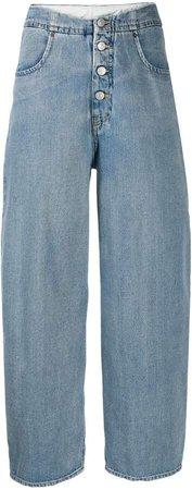 cocoon shape jeans