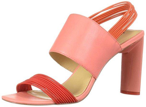 Amazon.com   Katy Perry Women's The Corry-Mini Elast. Strch/Sm.tmbld Heeled Sandal   Sandals