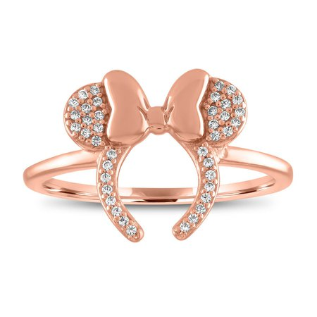 Minnie Mouse Headband Ring by Rebecca Hook