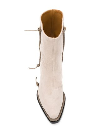 Acne Studios Suede Ankle Boots - Farfetch