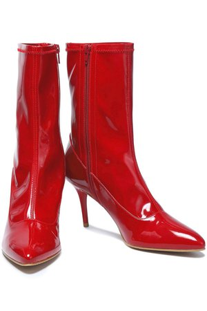 Crimson Patent-leather boots | Sale up to 70% off | THE OUTNET | STUART WEITZMAN | THE OUTNET