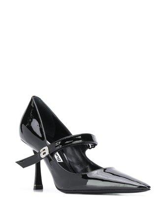 black Alexander Wang Grace Mary Jane pumps