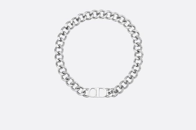 [W2C] Christian Dior Brass Choker Necklace : DesignerReps