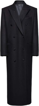 Magda Butrym Double-Breasted Wool Coat