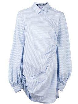 Jacquemus Striped Collar Dress