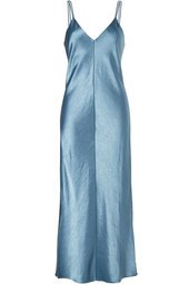 Joseph - Clea Silk Slip Dress - green
