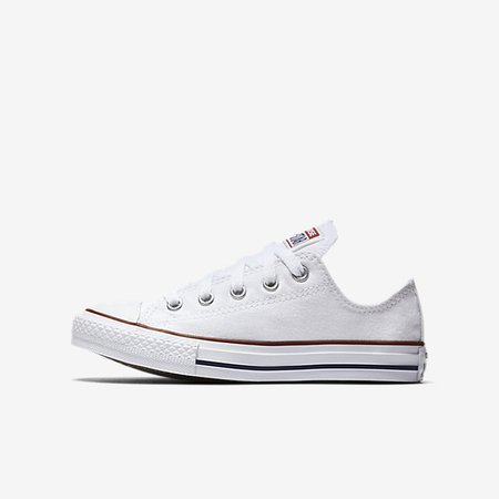 Converse Chuck Taylor All Star Low Top (10.5c-3y) Little Kids' Shoe. Nike.com
