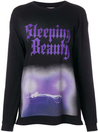Gcds Sleeping Beauty printed sweatshirt