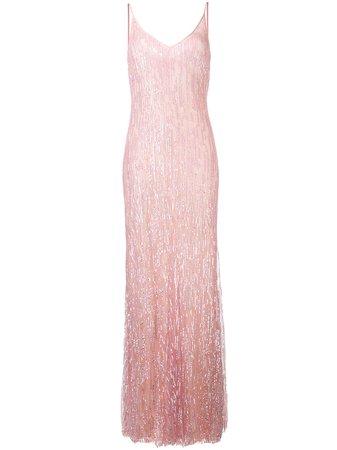 Amen Sequinned Evening Gown - Farfetch