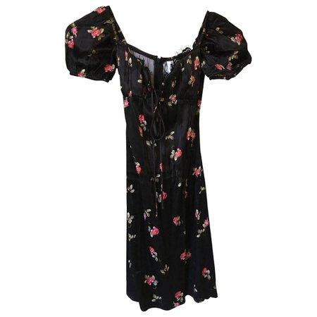 Mini dress Rat & Boa Black size XS International in Viscose - 8076432