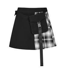 grey goth skirt - Google Search