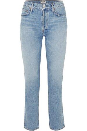 AGOLDE | Remy high-rise straight-leg jeans | NET-A-PORTER.COM