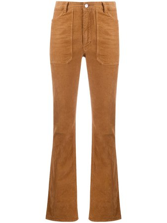 Zadig&Voltaire high-waisted Cotton Trousers - Farfetch