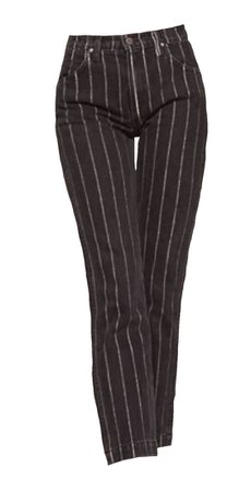 Black Pants w/ White Stripes (png)