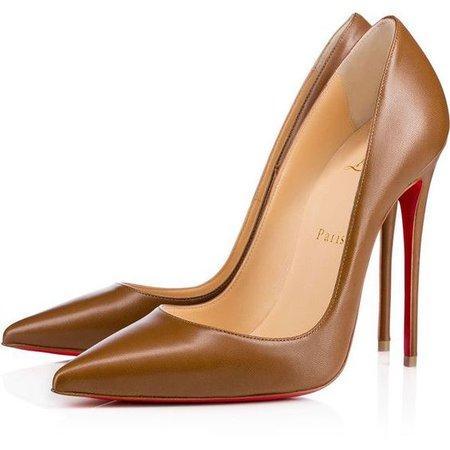 Brown Christian Louboutin Heels