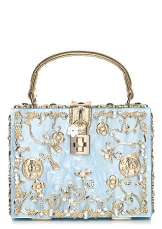 Buy CINDERELLA TOUCH BLUE BOX CLUTCH for Women Online in India