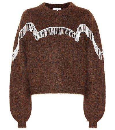 Heavy Soft wool-blend sweater
