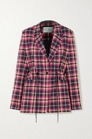 Rebecca Vallance | Ryder checked twill blazer | NET-A-PORTER.COM
