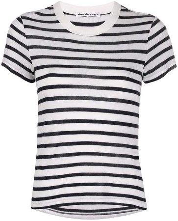 striped boyfriend T-shirt