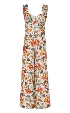 Anita'S Garden Silk Jumpsuit by Alix of Bohemia | Moda Operandi