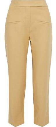 Coco Cropped Cotton-twill Straight-leg Pants