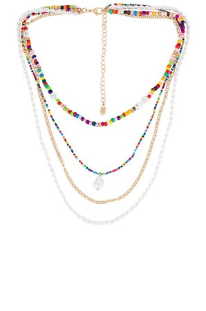 8 Other Reasons Luca Lariat Necklace in Multi | REVOLVE