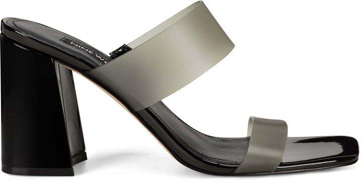 Gya Block Heel Slide Sandals