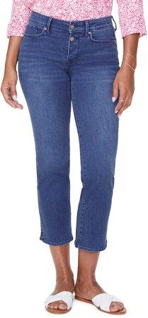 Marilyn Straight Leg Ankle Jeans
