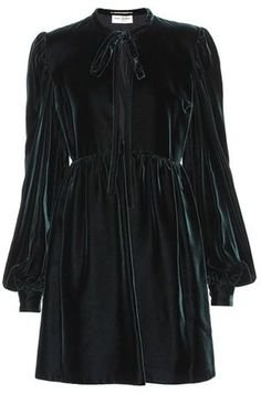 Saint Laurent Velvet dress