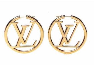 Louis Vuitton hoop earings