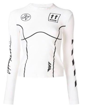 Sporty Long-Sleeved Top