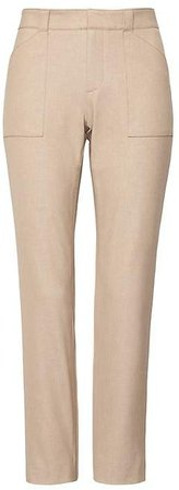 Sloan Skinny-Fit Utility Ankle Pant