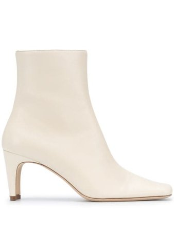 STAUD side-zipped Ankle Boots - Farfetch