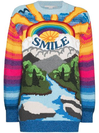 Stella McCartney Suéter Smile - Farfetch