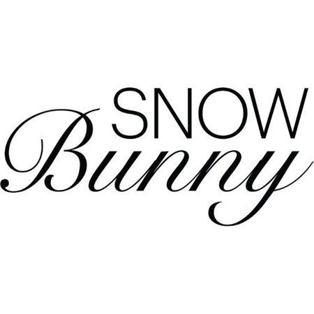 snow bunny text - Google Search