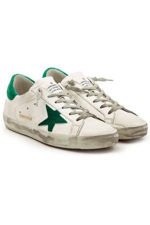 Super Star Leather Sneakers Gr. EU 40