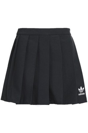 ADIDAS ORIGINALS Stretch-knit mini skirt