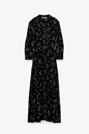PRINT DRESS | ZARA United States