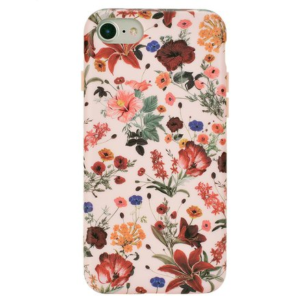 Nude Vintage Floral iPhone Case