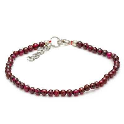 Garnet Gemstone Bracelet | Mystic Self LLC