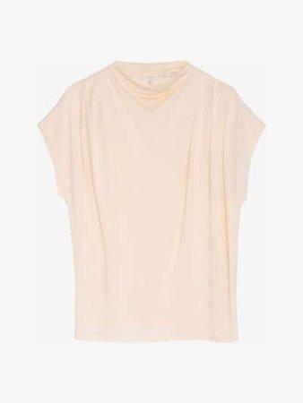 T-shirt confecionada 100% em seda Limited Edition - Mulher - Massimo Dutti