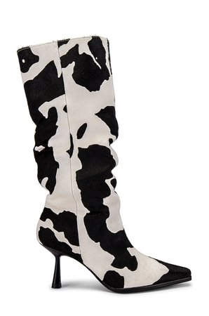 Song of Style Bea Boot in Black & White   REVOLVE